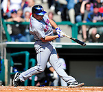 3 March 2010: New York Mets' infielder Mike Cervenak in action during a Grapefruit League game against the Atlanta Braves at Champion Stadium in the ESPN Wide World of Sports Complex in Orlando, Florida. The Braves defeated the Mets 9-5 in the Spring Training matchup. Mandatory Credit: Ed Wolfstein Photo