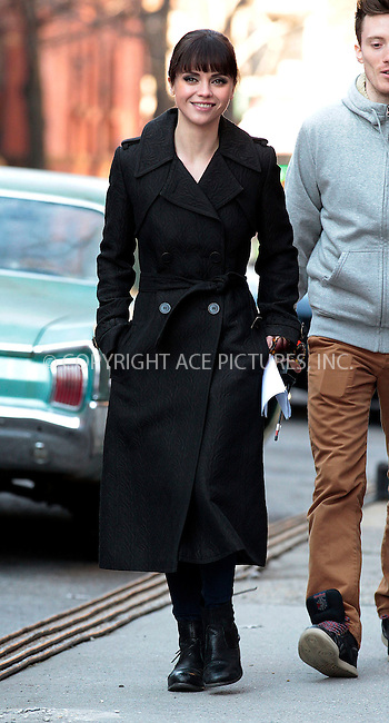 WWW.ACEPIXS.COM . . . . .  ....January 11 2012, New York City....Actress Christina Ricci on the Harlem set of the TV show 'Pan Am' on January 11 2012 in New York City....Please byline: John Peters - ACE PICTURES.... *** ***..Ace Pictures, Inc:  ..Philip Vaughan (212) 243-8787 or (646) 679 0430..e-mail: info@acepixs.com..web: http://www.acepixs.com