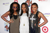CULVER CITY, CA - AUGUST 12:  Sierra McClain, Lauryn McClain and China Anne McClain at the 3rd Annual My Brother Charlie Family Fun Festival at Culver Studios on August 12, 2012 in Culver City, California.  Credit: mpi26/MediaPunch Inc.