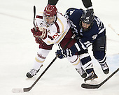 Quinn Smith (BC - 27), Dalton Speelman (UNH - 10) - The Boston College Eagles and University of New Hampshire Wildcats tied 4-4 on Sunday, February 17, 2013, at Kelley Rink in Conte Forum in Chestnut Hill, Massachusetts.