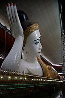 Sleeping  Buddha<br /> , Yangon, Myanmar in 2017