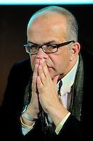 David Kessler direttore della versione francese .Parigi 23/1/2012 .Presentazione della versione francese del sito Huffington Post.Foto Insidefoto / Anthony Ghnassia / Panoramic