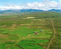 Dunkur séð til suðausturs, Dalabyggð áður Hörðudalshreppur / Dunkur viewing southeast, Dalabyggd former Hordudalshreppur.