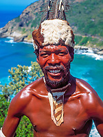 South Africa, Mbondo tribesman