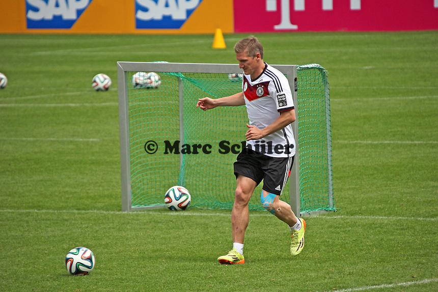 Bastian Schweinsteiger - Abschlusstraining der Deutschen Nationalmannschaft gegen die U20 im Rahmen der WM-Vorbereitung in St. Martin