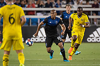 San Jose, CA - Saturday August 03, 2019: Judson #93 in a Major League Soccer (MLS) match between the San Jose Earthquakes and the Columbus Crew at Avaya Stadium.
