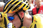 Steven Kruijswijk (NED) Team Jumbo-Visma crosses the finish line at the end of Stage 3 of La Vuelta 2019 running 188km from Ibi. Ciudad del Juguete to Alicante, Spain. 26th August 2019.<br /> Picture: Eoin Clarke | Cyclefile<br /> <br /> All photos usage must carry mandatory copyright credit (© Cyclefile | Eoin Clarke)