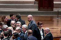 Acting United States Attorney General Matt Whitaker, center, arrives before a State Funeral for former President George H.W. Bush at the National Cathedral, Wednesday, Dec. 5, 2018,  in Washington. <br /> CAP/MPI/RS<br /> &copy;RS/MPI/Capital Pictures