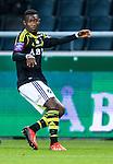 Solna 2013-09-30 Fotboll Allsvenskan AIK - &Ouml;sters IF :  <br /> AIK 12 Christian Kouakou <br /> (Foto: Kenta J&ouml;nsson) Nyckelord:  portr&auml;tt portrait
