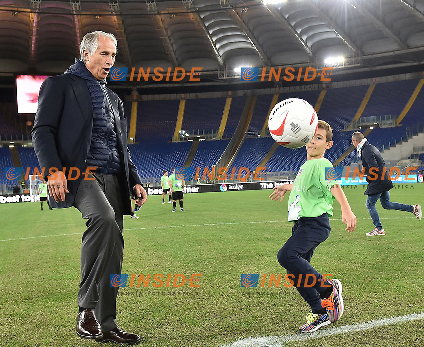 Giovanni Malago' <br /> Roma 12-10-2016 Stadio Olimpico <br /> Incontro di calcio benefico Uniti per la Pace <br /> Charity football match United for Peace . Foto Andrea Staccioli / Insidefoto