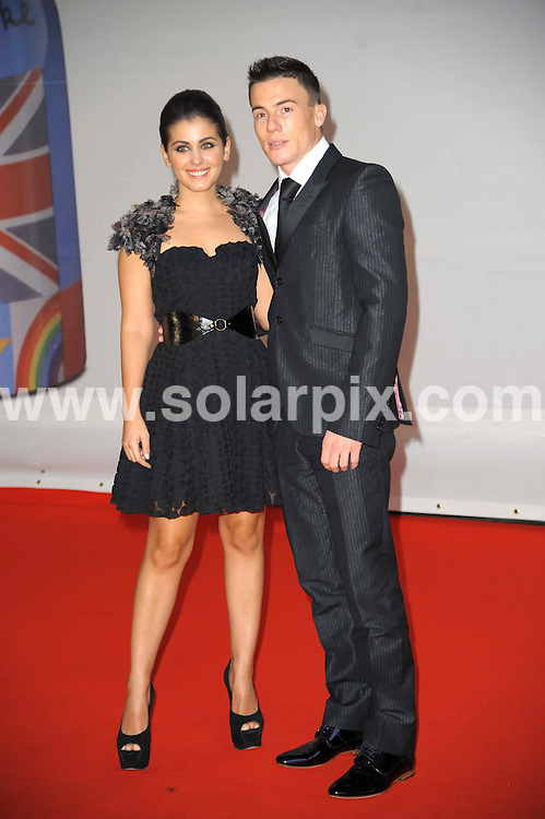 **ALL ROUND PICTURES FROM SOLARPIX.COM**                                             **WORLDWIDE SYNDICATION RIGHTS**                                                                                  Stars arrive at London's O2 Arena for the 2012 Brit Awards..This pic:   Katie Melua & James Toseland                            .JOB REF:    14495   MSR     DATE:   22.02.12                                                         **MUST CREDIT SOLARPIX.COM OR DOUBLE FEE WILL BE CHARGED**                                                                      **MUST AGREE FEE BEFORE ONLINE USAGE**                               **CALL US ON: +34 952 811 768 or LOW RATE FROM UK 0844 617 7637**