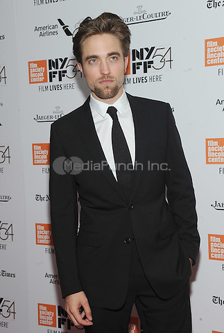 NEW YORK, NY - OCTOBER 15:  Robert Pattinson attends the 54th New York Film Festival closing night screening of 'The Lost City Of Z' at Alice Tully Hall, Lincoln Center on October 15, 2016 in New York City.Photo by John Palmer/ MediaPunch