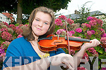 FIDDLER: Tralee fiddle player, Marie O'Connor who won silver in the slow airs category at the All-Ireland Fleadh Cheoil at the weekend.   Copyright Kerry's Eye 2008