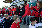 16 November 2008: Maryland Terrapins soccer during a 1-0 win over the Virginia Cavaliers for the ACC Championship at WakeMed Soccer Stadium in Cary, NC.