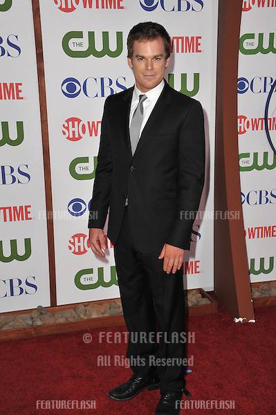 Michael C. Hall, star of Dexter, at the CBS Summer 2011 TCA Party at The Pagoda, Beverly Hills..August 3, 2011  Los Angeles, CA.Picture: Paul Smith / Featureflash