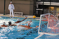 The Harker School.US- Upper School.Varsity Boys Water Polo vs Fremont High.2011-10-07..Photo by Kyle Cavallaro