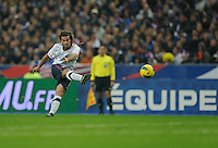 Kyle Beckerman of team USA in action during the friendly match France against USA at the Stade de France in Paris, France on November 11th, 2011.