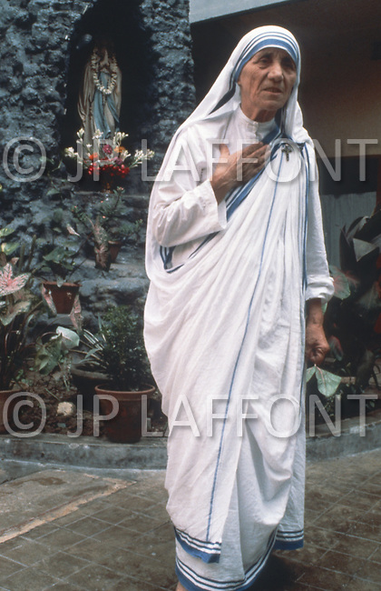 Calcutta, India. April 04, 1975.<br />