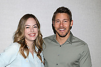 LOS ANGELES - JUN 22:  Annika Noelle, Scott Clifton at the Bold and the Beautiful Fan Club Luncheon at the Marriott Burbank Convention Center on June 22, 2019 in Burbank, CA