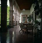 A294KE Spanish  colonial style hotel San Miguel de Allende Mexico