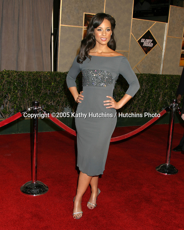 "Alicia Keys.""Glory Road"" Premiere.Pantages Theater.January 5, 2006.©2006 Kathy Hutchins / Hutchins Photo...."