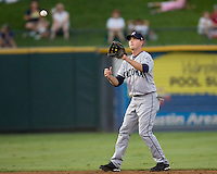 Wilson, Josh 4052.jpg.  PCL baseball featuring the Tacoma Rainers at Round Rock Express at Dell Diamond on August 5th 2009 in Round Rock, Texas. Photo by Andrew Woolley.