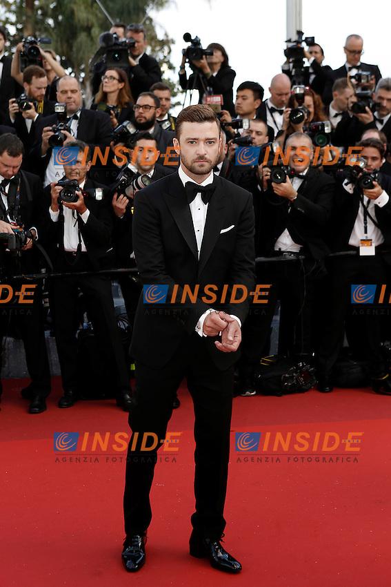 Justin Timberlake<br /> Festival di Cannes 2016 <br /> Foto Panoramic / Insidefoto