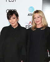 HOLLYWOOD, CA - NOVEMBER 12: Kris Jenner, Melanie Griffith, at the AFI Fest 2017 Centerpiece Gala Presentation of The Disaster Artist on November 12, 2017 at the TCL Chinese Theatre in Hollywood, California. Credit: Faye Sadou/MediaPunch /NortePhoto.com