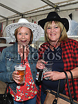 Dolores Dunne and Irene McGahon at the Barn Dance in St. Kevin's Community Centre Phillipstown.  Photo:Colin Bell/pressphotos.ie