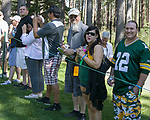 A photograph taken during the American Century Championship at Edgewood Tahoe Golf Course in Stateline, Nevada, Saturday, July 14, 2018.