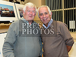 Kevin Sheerin and Oliver Flanagan at the Mid-Louth Camera Club's 20th anniversary exhibition in St. Brigid's Hall Dunleer. Photo:Colin Bell/pressphotos.ie