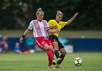 during the pre season friendly match between Stevenage Ladies FC and Watford Ladies at The County Ground, Letchworth Garden City, England on 16 July 2017. Photo by Andy Rowland / PRiME Media Images.