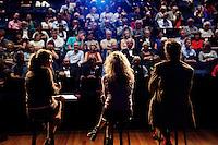 Utrecht, 24 september 2016<br /> Nederlands Film Festival 2016<br /> 90 jaar VPRO<br /> Nagesprek over De Held; Jessica Durlacher en Menno Meyjes, olv Marcella van Leeuwen<br /> Foto Felix Kalkman