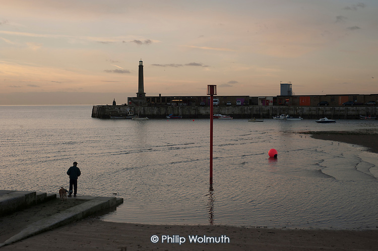 Margate harbour, Kent.