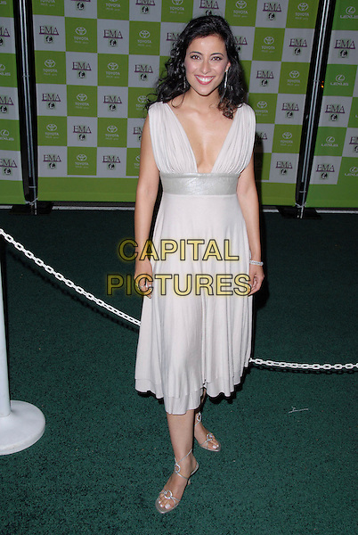 BAHAR SOOMEKH.16th Annual Environmental Media Association Awards Gala held at the Wilshire Ebell Theatre,Los Angeles, California, USA..November 8th, 2006.Ref: ADM/CH.full length white cream dress.www.capitalpictures.com.sales@capitalpictures.com.©AdMedia/Capital Pictures. *** Local Caption *** ..