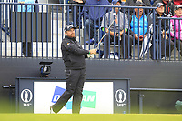 Shane Lowry (IRL) on the 13th during the preview of the the 148th Open Championship, Portrush golf club, Portrush, Antrim, Northern Ireland. 17/07/2019.<br /> Picture Thos Caffrey / Golffile.ie<br /> <br /> All photo usage must carry mandatory copyright credit (© Golffile | Thos Caffrey)