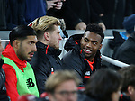 Liverpool's Daniel Sturridge looks on from the bench during the Premier League match at Anfield Stadium, Liverpool. Picture date December 27th, 2016 Pic David Klein/Sportimage