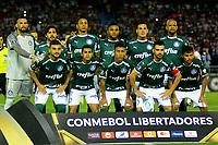BARRANQUILLA - COLOMBIA, 06-03-2019: Los jugadores Palmeiras (BRA), posan para una foto, antes de partido entre Atlético Junior (COL) y Palmeiras (BRA) de la fase de grupos, grupo F, fecha 1, por la Copa Conmebol Libertadores 2019, jugado en el estadio Metropolitano Roberto Meléndez de la ciudad de Barranquilla. / The players of Palmeiras (BRA), pose for a photo, prior a match between Atletico Junior (COL) and Palmeiras (BRA) of the group stage, group F, 1st date for the Copa Conmebol Libertadores 2019 at the Metropolitano Roberto Melendez Stadium in Barranquilla city. Photo: VizzorImage / Alfonso Cervantes / Cont.