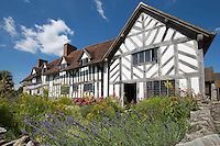 United Kingdom, England, Warwickshire, Stratford-upon-Avon: Mary Arden's Farm (mother of William Shakespeare) - Palmer's farmhouse | Grossbritannien, England, Warwickshire, Stratford-upon-Avon: Mary Arden's Farm (Mutter von William Shakespeare) - Palmer's farmhouse