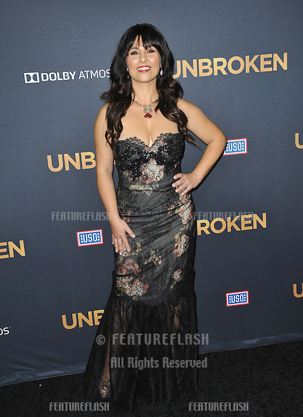 Maddalena Ischiale at the Los Angeles premiere of her movie &quot;Unbroken&quot; at the Dolby Theatre, Hollywood.<br /> December 15, 2014  Los Angeles, CA<br /> Picture: Paul Smith / Featureflash