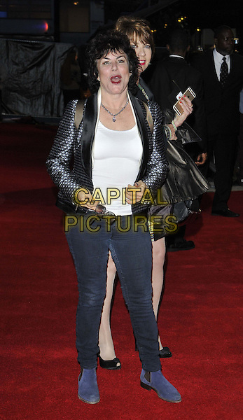 LONDON, ENGLAND - OCTOBER 17: Ruby Wax attends the &quot;A Little Chaos&quot; Love gala screening, 58th LFF day 10, Odeon West End cinema, Leicester Square, on Friday October 17, 2014 in London, England, UK. <br /> CAP/CAN<br /> &copy;Can Nguyen/Capital Pictures
