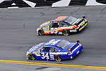 Feb 12, 2009; 2:35:52 PM; Daytona Beach, FL, USA; NASCAR Sprint Cup Series race of the Gatorade Duel at Daytona International Speedway.  Mandatory Credit: (thesportswire.net)