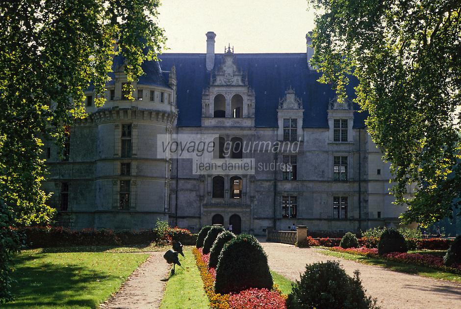 Europe/France/Centre/37/Indre-et-Loire/Azay-le-Rideau: Le château