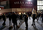A band plays outside the stadium during the Premier League match at Villa Park, Birmingham. Picture date: 25th November 2019. Picture credit should read: Darren Staples/Sportimage