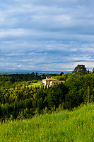 A Tuscan style villa in the Tuki Tuki Hills, near Napier, Hawkes Bay, north island, New Zealand