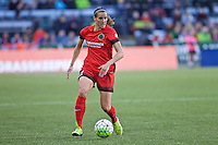 Portland, OR - Saturday, May 21, 2016: Portland Thorns FC defender Katherine Reynolds (2). The Portland Thorns FC defeated the Washington Spirit 4-1 during a regular season National Women's Soccer League (NWSL) match at Providence Park.