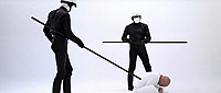 THX 1138 (1971) <br /> Robert Duvall<br /> *Filmstill - Editorial Use Only*<br /> CAP/KFS<br /> Image supplied by Capital Pictures