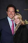 Kevin McCollum & Lynette Perry-McCollum attending the Broadway Opening Night Performance of 'The Performers' at the Longacre Theatre in New York City on 11/14/2012