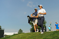 Eun Jeong Seong (KOR) departs the 16th tee during Thursday's first round of the 72nd U.S. Women's Open Championship, at Trump National Golf Club, Bedminster, New Jersey. 7/13/2017.<br /> Picture: Golffile | Ken Murray<br /> <br /> <br /> All photo usage must carry mandatory copyright credit (&copy; Golffile | Ken Murray)