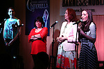 Marla Mindelle; Ann Harada; Harriet Harris and Laura Osnes  during the 'Rodgers + Hammerstein's Cinderella'  Original Cast Recording CD release performance at Barnes & Noble 86th Street in New York City on June 13, 2013